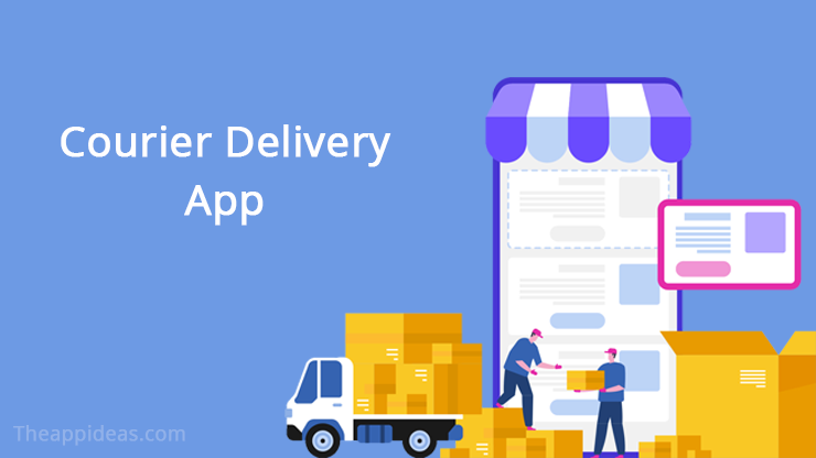 courier delivery app ideas
