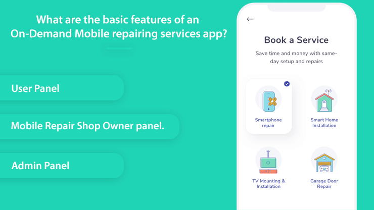 On-Demand Mobile Repairing Services app