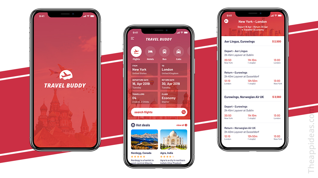 How Much does it cost to develop a Travel Buddy App