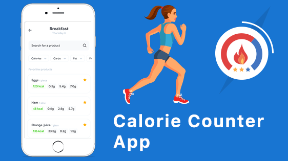 How Much Cost to develop a Calorie Counter App?
